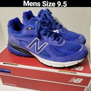 **Made in USA**NEW BALANCE Men/'s M990  Royal Blue 10.5 D